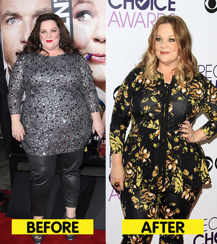 Melissa McCarthy Weight Loss before and after compare