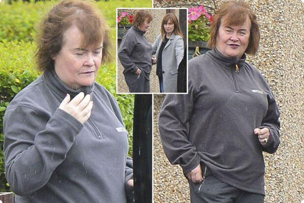 Susan Boyle weight loss before photo