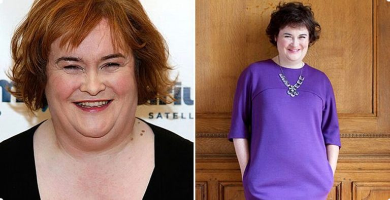 Susan Boyle weight loss success