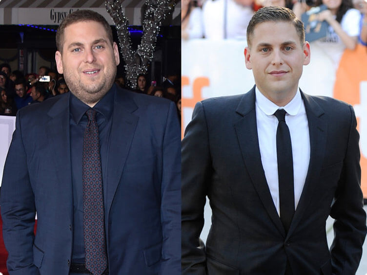 ah Hill weight loss before and after compare
