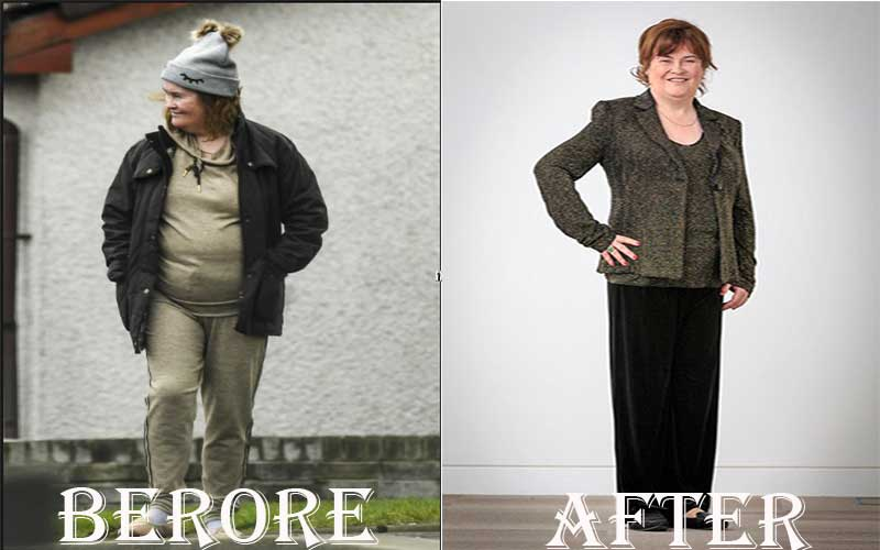 Susan Boyle's Weight Loss